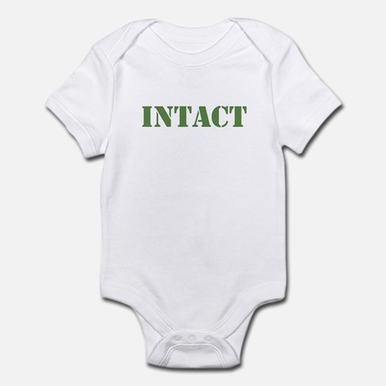 Intact Khaki Infant Bodysuit