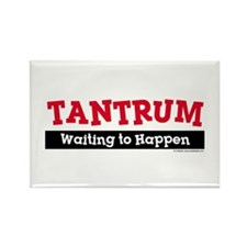 Tantrum Rectangle Magnet