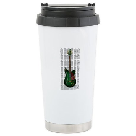 KuuMa Guitar 09 Stainless Steel Travel Mug