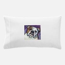 Portrait of an English Bulldog Pillow Case