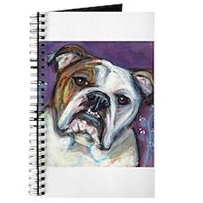 Portrait of an English Bulldog Journal