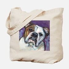 Portrait of an English Bulldog Tote Bag