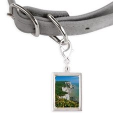 The White Cliffs of Dover,  Small Portrait Pet Tag