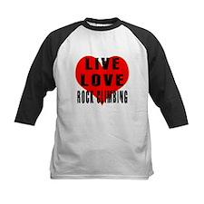 Live Love Rock Climbing Tee