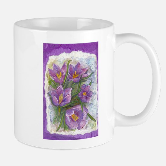 Signs Of Spring acrylic painting by April Dawn Mug