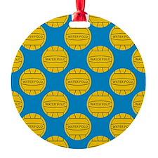 Water Polo Balls Ornament