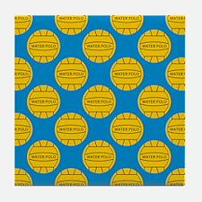 Water Polo Balls Tile Coaster