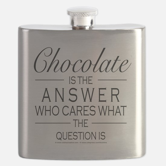 Chocolate is the answer Flask