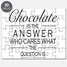 Chocolate is the answer Puzzle