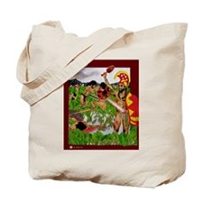 Tote Bag, Taro Field Fighters