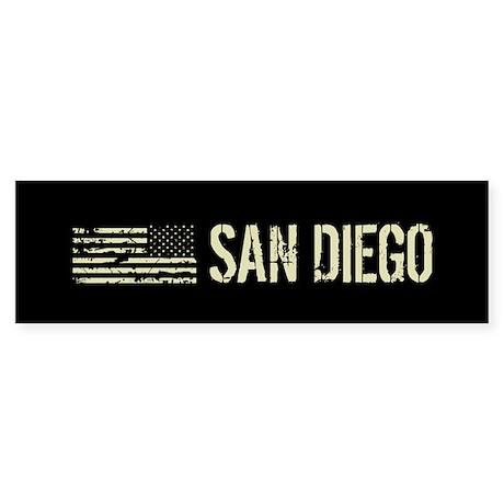 Black Flag: San Diego Sticker (Bumper 50 pk)
