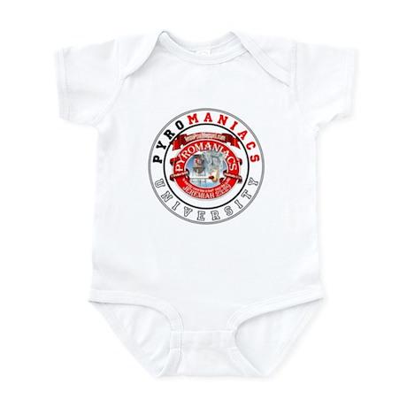 Get schooled @ TeamPyro Infant Bodysuit