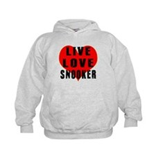 Live Love Snooker Hoody