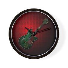 KuuMa Guitar 09 (R) Wall Clock