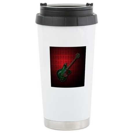 KuuMa Guitar 09 (R) Stainless Steel Travel Mug