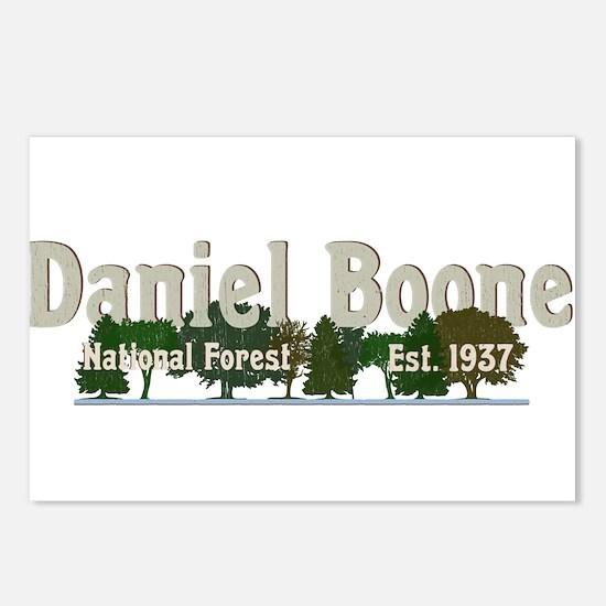 Vintage Daniel Boone Nati Postcards (Package of 8)