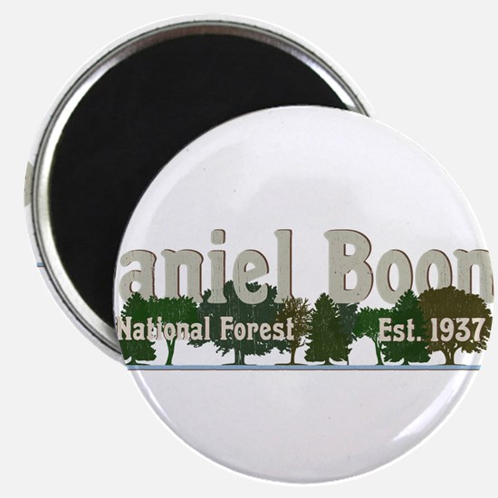 Vintage Daniel Boone National Forest Trees Magnets