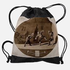 Classical painting Drawstring Bag