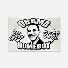 Obama is my Homeboy 2008 Rectangle Magnet
