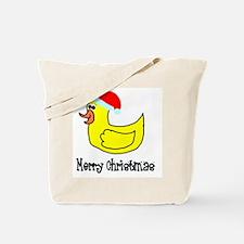Senor Christmas Duckie Tote Bag
