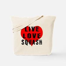 Live Love Squash Tote Bag