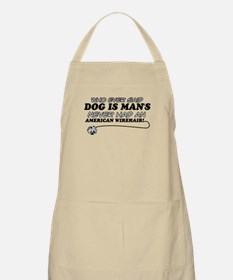 American Wirehair Cat Designs Apron