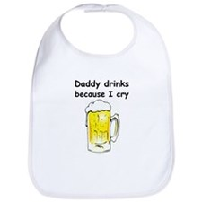 Daddy drinks Bib