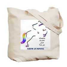 Show Jumping Tote Bag