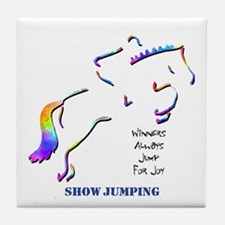 Show Jumping Tile Coaster