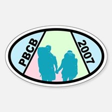 PBCB 2007 Custom Oval Decal