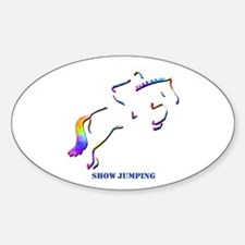 Show Jumping Oval Decal