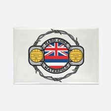 Hawaii Water Polo Rectangle Magnet