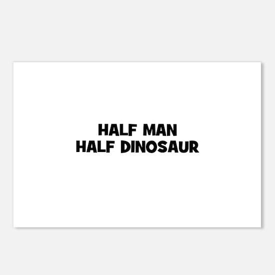 Half Man~Half Dinosaur Postcards (Package of 8)
