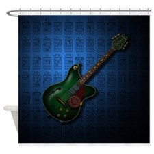 KuuMa Guitar 09 (B) Shower Curtain