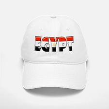 Word Art Flag of Egypt Baseball Baseball Cap