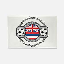 Hawaii Soccer Rectangle Magnet
