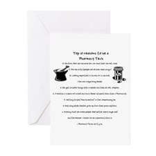Pharmacy Tech Top 10 List Greeting Cards (Package