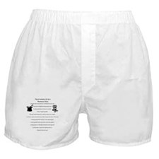Pharmacy Tech Top 10 List Boxer Shorts