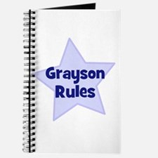 Grayson Rules Journal