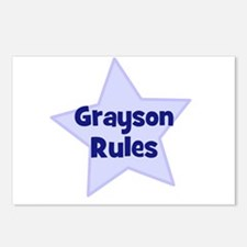 Grayson Rules Postcards (Package of 8)