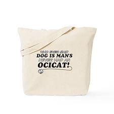 Ocicat Cat Designs Tote Bag