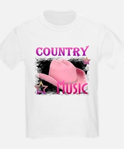 Country Music Kids T-Shirt