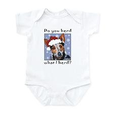 Red Heeler Do you Herd? Infant Bodysuit