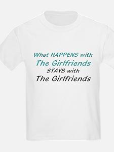 Girlfriends Kids T-Shirt