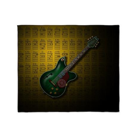 KuuMa Guitar 09 (Y) Throw Blanket