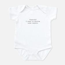 Borrow some sweats Infant Bodysuit