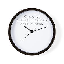 Borrow some sweats Wall Clock