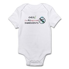 Milk Allergy Infant Bodysuit
