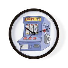 Slot Machine Wall Clock