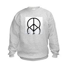 Peace Sign Sinking Sweatshirt